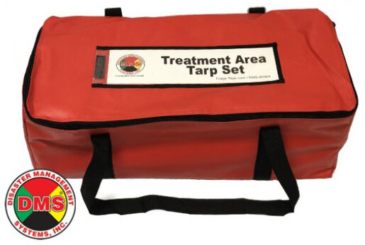 Disaster Management Systems<sup>™</sup> Triage Treatment Area Tarp Kit with Bag, 4/set