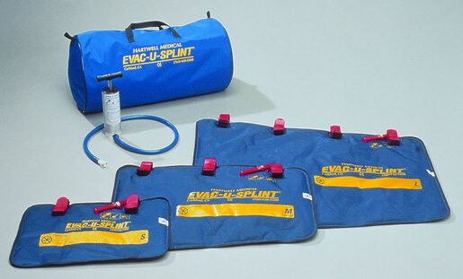 Hartwell EVAC-U-SPLINT<sup>&reg;</sup> Extremity Splint Kit