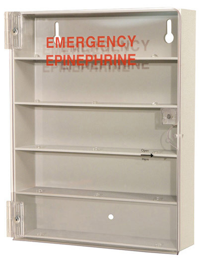 Bowman Epinephrine Injector Emergency Cabinets