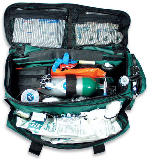 Curaplex<sup>&reg;</sup> O2 To Go Pro Trauma Kit with Oxygen Module