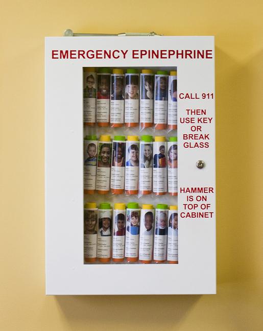 Allergy Emergency Kit<sup>™</sup> School Nurse's Office Epinephrine Locking Cabinets
