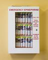 Allergy Emergency Kit<sup>™</sup> School Nurse's Office Epinephrine Locking Cabinet, 32-unit
