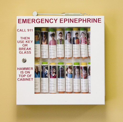 Allergy Emergency Kit<sup>™</sup> School Nurse's Office Epinephrine Locking Cabinets