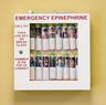 Allergy Emergency Kit<sup>™</sup> School Nurse's Office Epinephrine Locking Cabinet, 16-unit