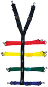 EP&R Spider-Loop Strap Speed/Spider-Clips Only, Multicolor
