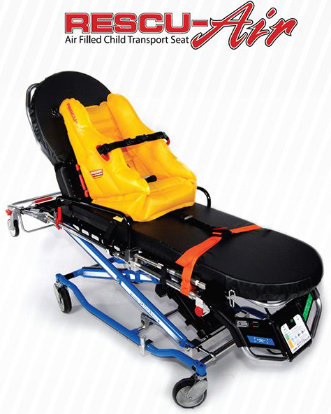 EP&R Rescu-Air<sup>™</sup> Air-filled Child Transport Seat