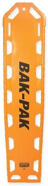 EP&R Bak-Pak II Backboard with Pins, Orange