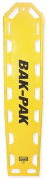 EP&R Bak-Pak II Backboard with Pins, Yellow