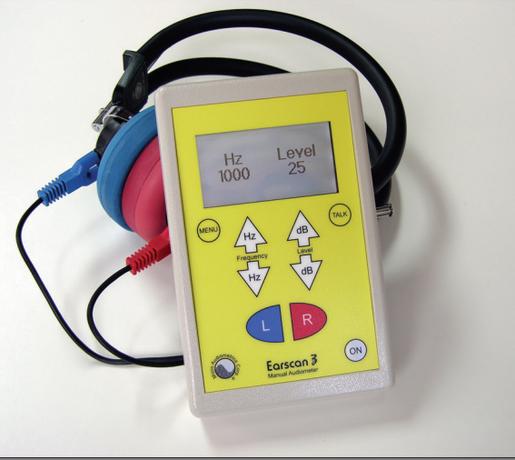 Micro Audiometrics Corp Earscan<sup>®</sup> 3 Manual Audiometer