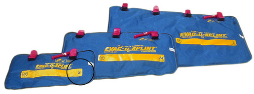 Hartwell EVAC-U-SPLINT<sup>®</sup> Extremity Splints