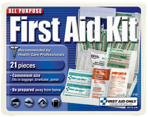 First Aid Only<sup>®</sup> All-purpose First Aid Kit