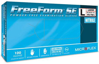 Microflex<sup>&reg;</sup> FreeForm SE Gloves, Medium