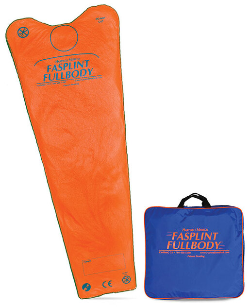 Hartwell FASPLINT FULLBODY<sup>®</sup> Splint with Carry Case