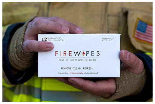 "Firewipes<sup>®</sup> Firefighter Deacon Soot Removal Wipes, 8"" x 12"""