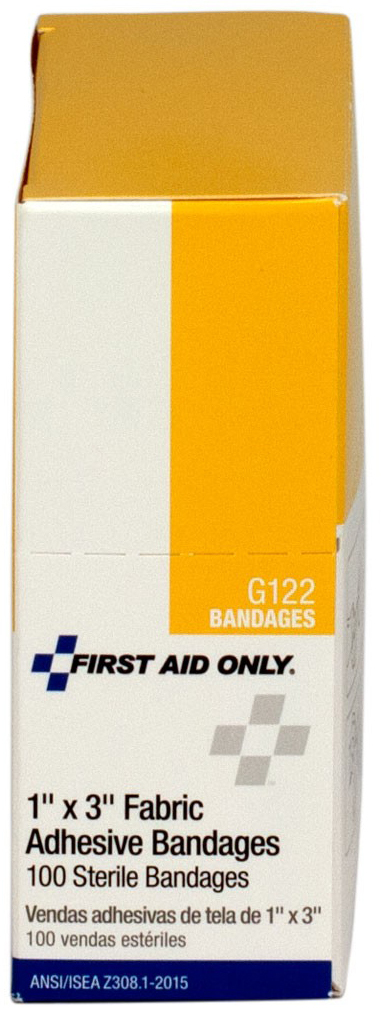 """First Aid Only<sup>®</sup> Fabric Bandage, 1"""" x 3"""""""