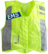 Statpacks G3 Fluorescent Basic Safety Vest with EMS Name Plate