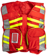 StatPacks G3 Advanced Safety Vest, Red