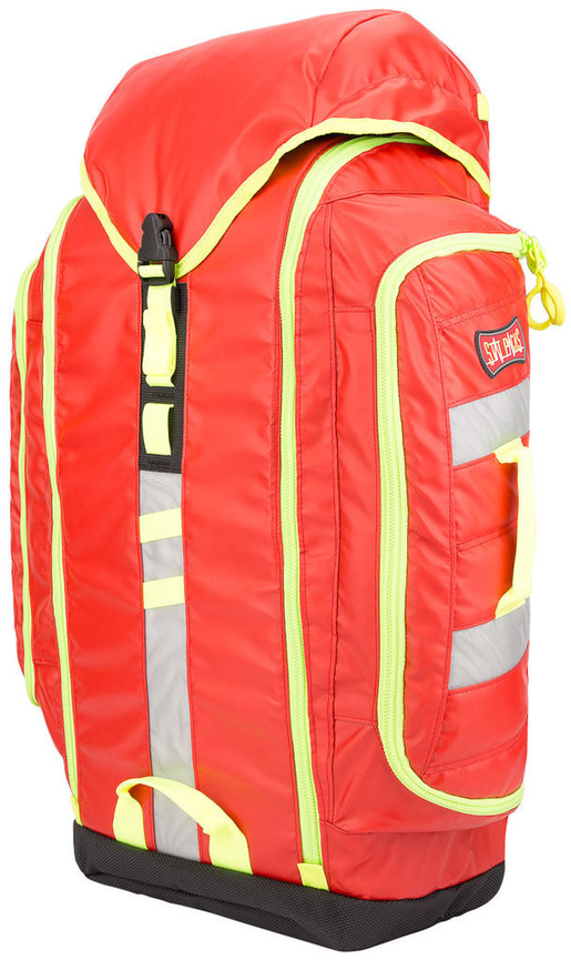 StatPacks G3 Back Up Bag, Blood Borne Pathogen Resistant, Red