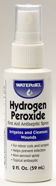 Water-Jel<sup>&reg;</sup> Hydrogen Peroxide Spray, 2oz Bottle