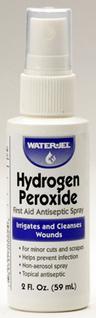 Water-Jel<sup>®</sup> Hydrogen Peroxide Spray, 2oz Bottle
