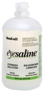 Fendall<sup>&reg;</sup> Eyesaline<sup>&reg;</sup> Eye Wash Solution, 16oz Bottle