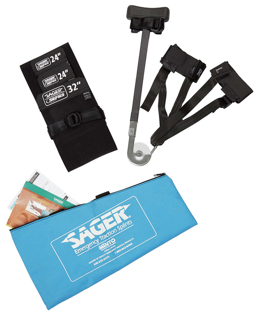 Sager<sup>™</sup> Emergency Bilateral Traction Splint, Infant