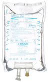 B. Braun Medical Excel IV Bags, 0.9% Sodium Chloride, 500mL