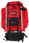 L.A. Rescue<sup>®</sup> Ultimate 72-hour Deployment Gear Backpack, Red