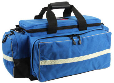 "L.A. Rescue® Medic Attack Pack, Bag Only, 22""L x 14""W x 11""H, Royal Blue"