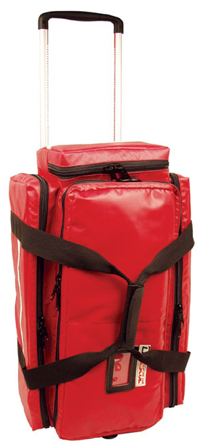 L.A. Rescue<sup>&reg;</sup> O2 To Roll Pro Bag, Red