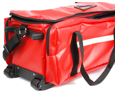 L.A. Rescue<sup>®</sup> O2 To Roll Pro Bag, Red