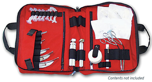 L.A. Rescue® Medic Attack Pack, Intubation Kit, Red