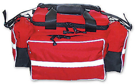 """L.A. Rescue® Medic Attack Pack, Bag Only, 18""""L x 14""""W x 11""""H, Red"""