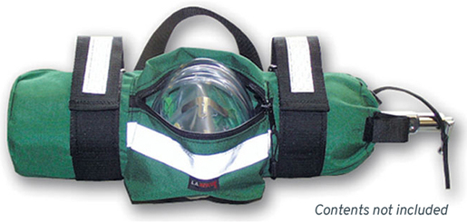 L.A. Rescue<sup>®</sup> O2 Cylinder Sleeve, Green
