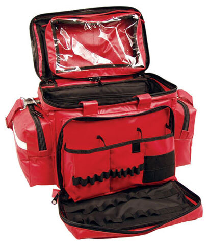L.A. Rescue<sup>®</sup> Blood and Fluid Resistant Attack Pack Bag, Red