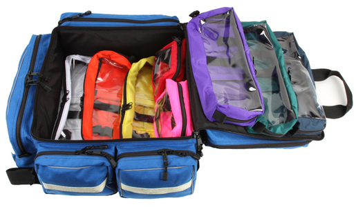 L.A. Rescue<sup>®</sup> Pediatric ALS Attack Pack Bag