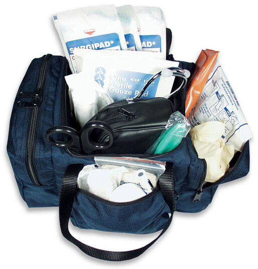 Curaplex<sup>&reg;</sup> Junior Complete First Call In Bag, Navy