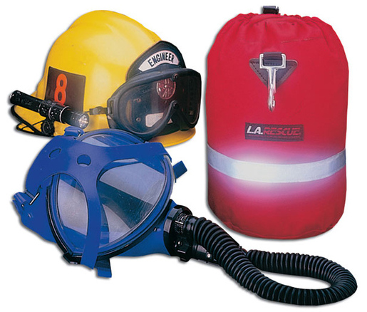 L.A. Rescue<sup>®</sup> SCBA Mask Bag, Red