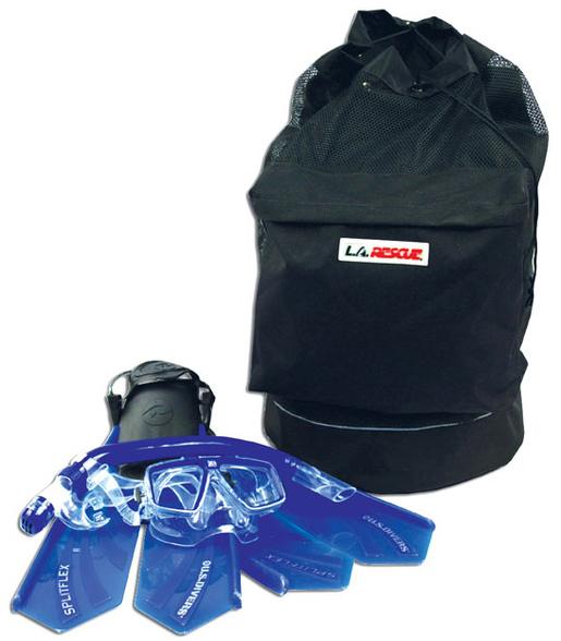 L.A. Rescue<sup>®</sup> Swiftwater Rescue Gear Bag, Black