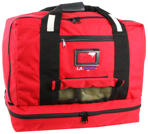 L.A. Rescue<sup>®</sup> Flotech Turnout Gear Bag, Red