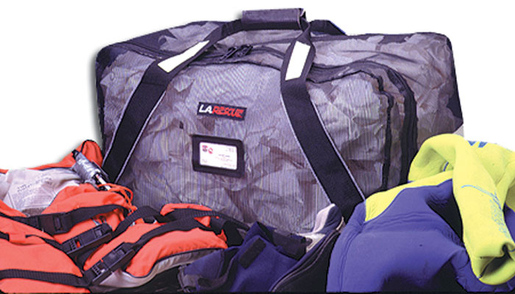 L.A. Rescue<sup>®</sup> Mesh Gear Bag, Black