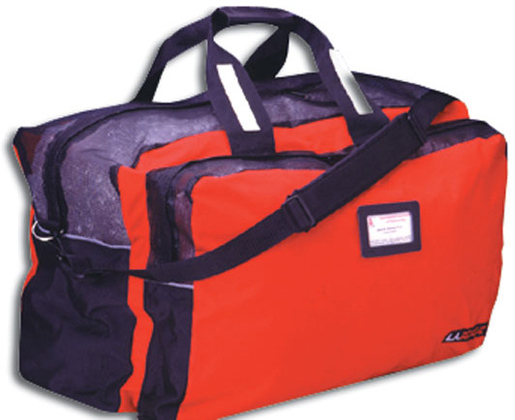 L.A. Rescue<sup>®</sup> Combo Mesh Gear Bag, Black/Red