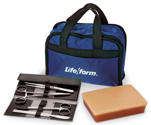 Nasco Life/form<sup>®</sup> Suture Kit, Light Skin