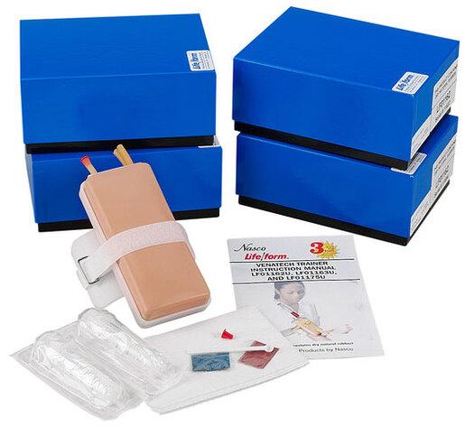 Nasco Life/form<sup>®</sup> Venatech IV Trainer, Light Skin, 5/pkg