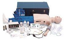 Nasco CRiSis<sup>™</sup> ALS Manikin, Defibrillatrion Add-On Chest Skin