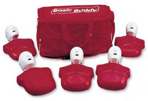 Nasco Life/form<sup>®</sup> Basic Buddy<sup>™</sup> CPR Manikins, 5-pack