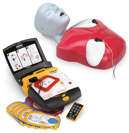 Nasco Life/form<sup>®</sup> Basic Buddy<sup>™</sup> LIFEPAK<sup>®</sup> CR Plus AED Training Device Package