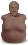 Nasco Life/form<sup>®</sup> Bariatric CPR Fat Old Fred Manikin, Dark Skin