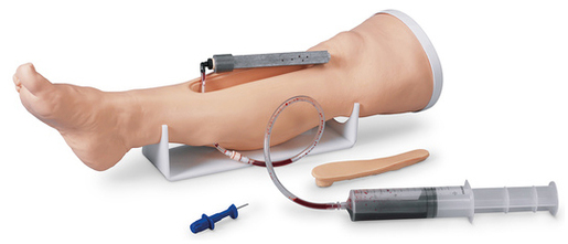 Nasco Life/form<sup>®</sup> Intraosseous (IO) Infusion Simulator, Adult Leg