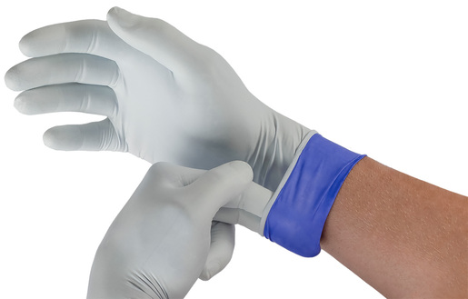 Microflex<sup>®</sup> LifeStar<sup>™</sup> EC Powder-Free Nitrile Examination Gloves, Large